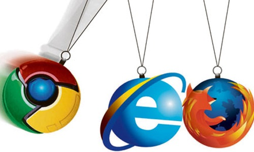 Chrome vs Firefox and Internet Explorer