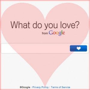 Google's What Do You Love