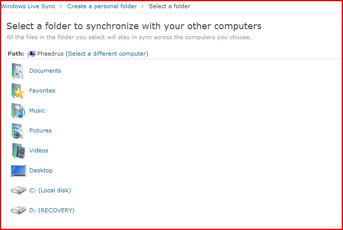 Syncing Between Computers with Live Sync